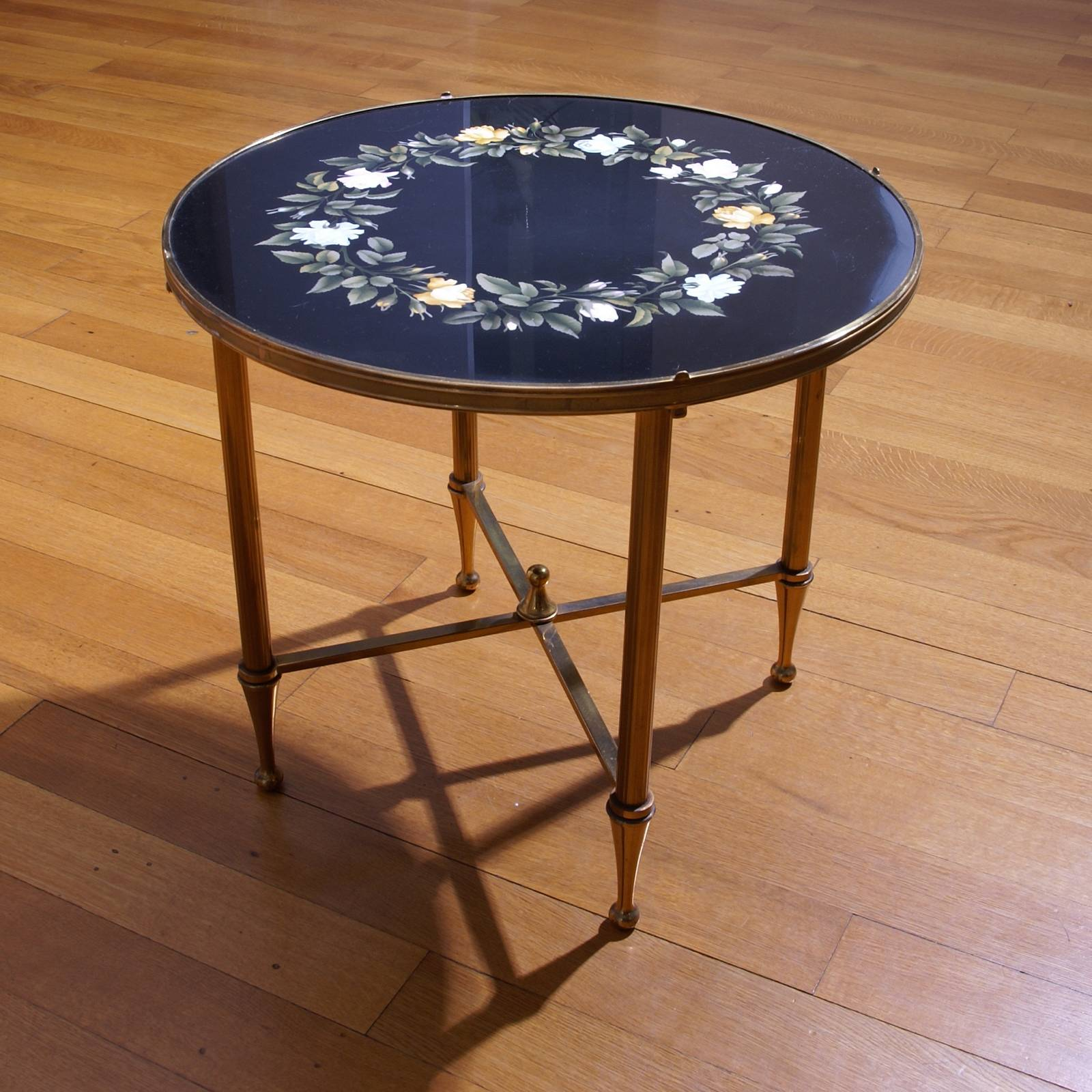 Derbyshire Black Marble Table